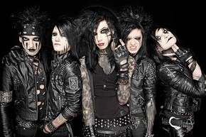 "BLACK VEIL BRIDES NEW VIDEO ""FALLEN ANGELS"""
