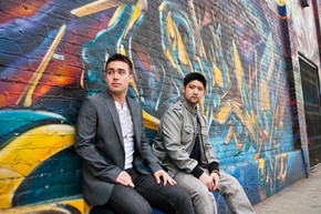 "JAPANESE AMERICAN HIP-HOP DUO NjS VIDEO ""STARTING FRESH"""