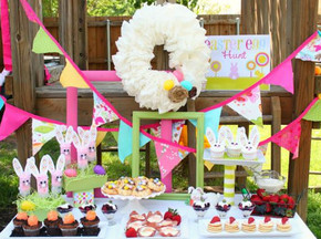 Easter Party Easy Ideas to Incorporate for Indoor or Outdoor Eve_phixr
