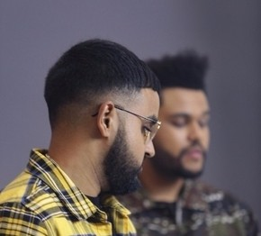 Magnificent Nav The Weeknd Team Up For Some Way Skope Entertainment Inc Hairstyle Inspiration Daily Dogsangcom